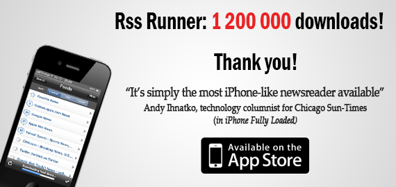Do you know Rss Runner?